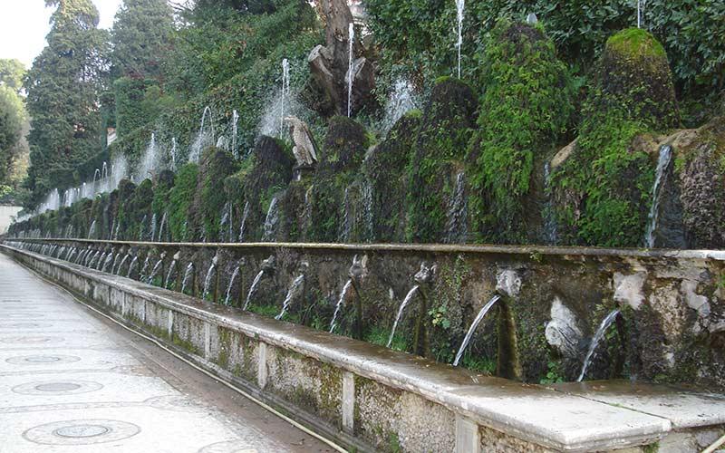 Villa d'Este, fontane