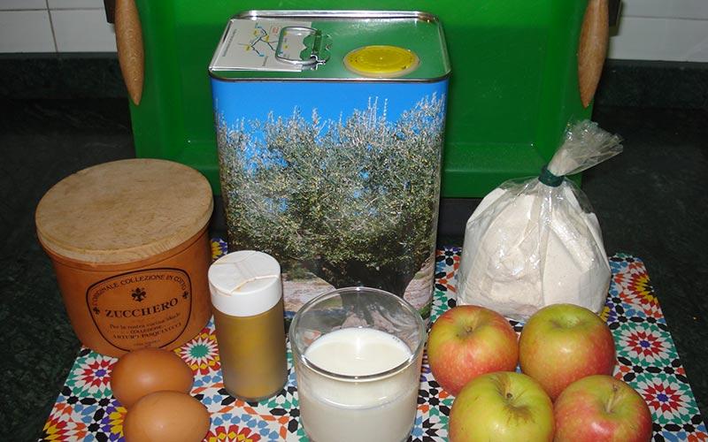 tortino di mele ingredienti