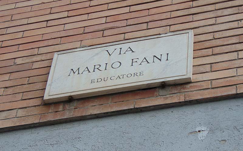 Via Mario Fani, Aldo Moro