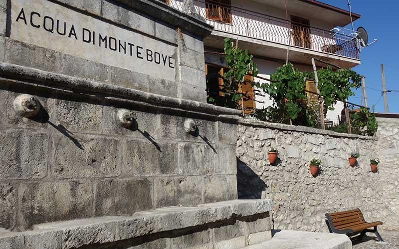 Sante Marie acqua di Monte Bove