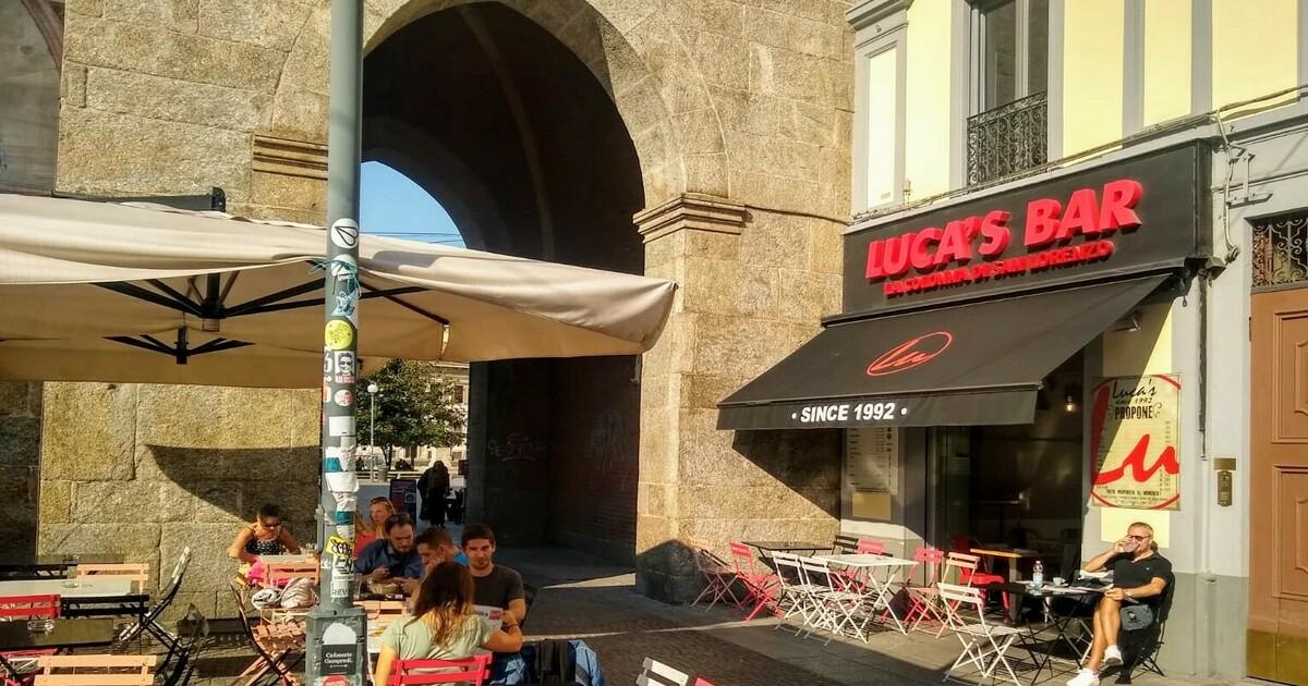 Luca's bar: la colonna della San Lorenzo milanese