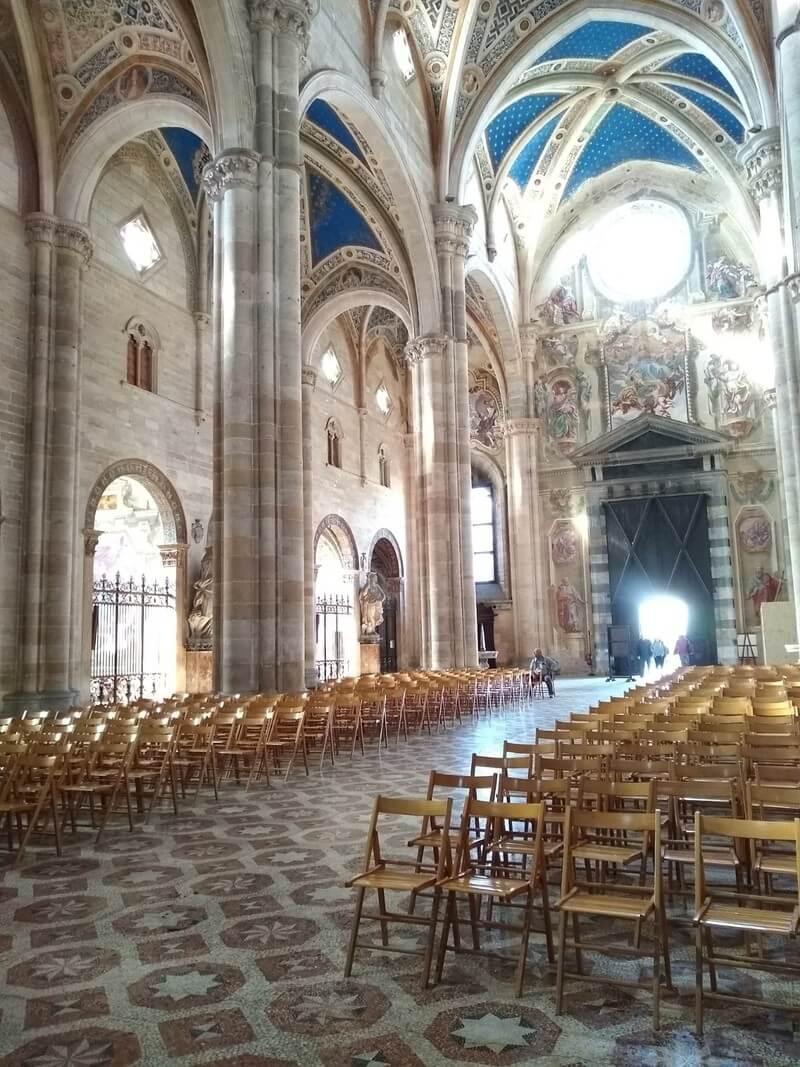 interno Certosa di Pavia
