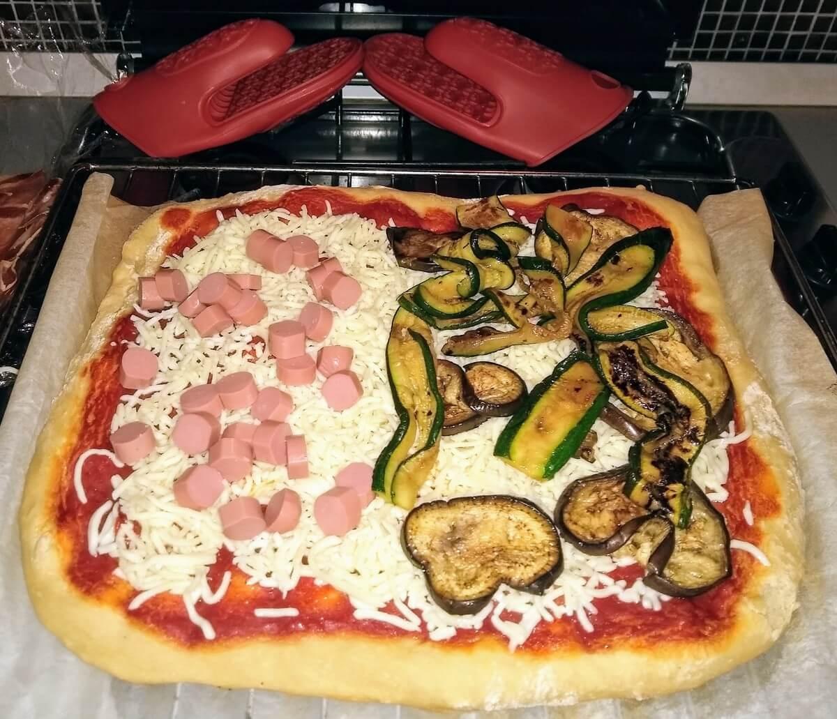 pizza wustel da cuocere