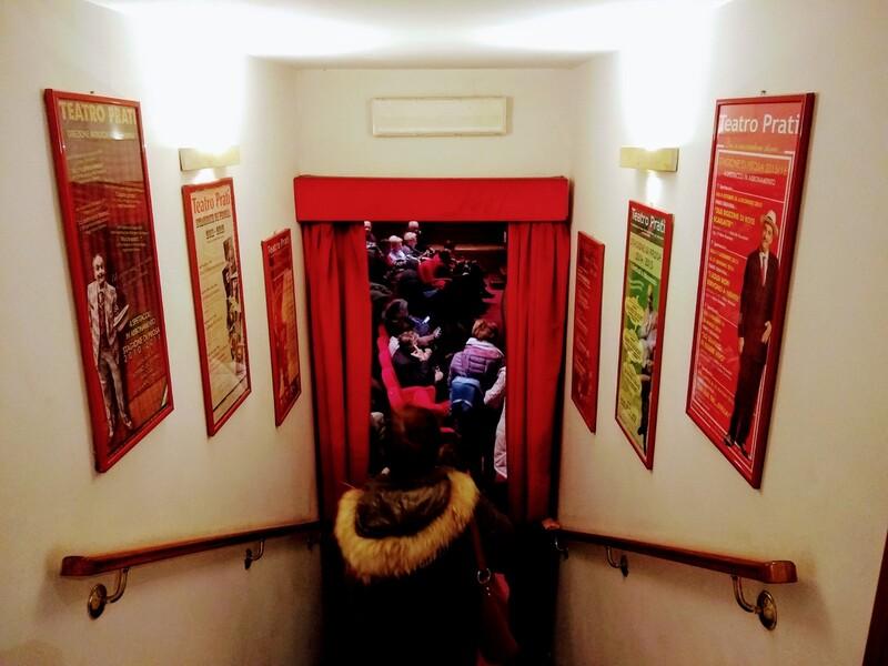 locandine teatro prati