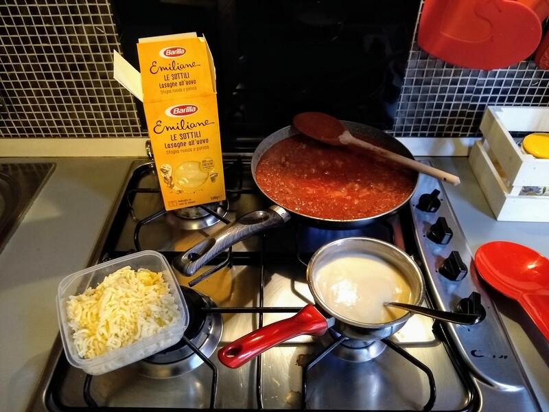 lasagne besciamella ragù