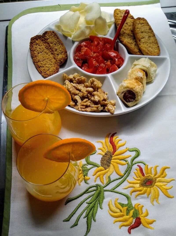 aperitivo succo d'arancia