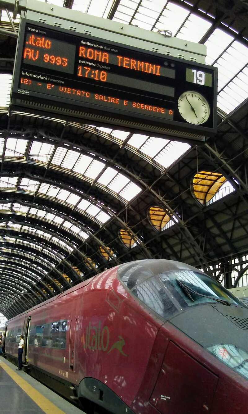 treno stazione centrale