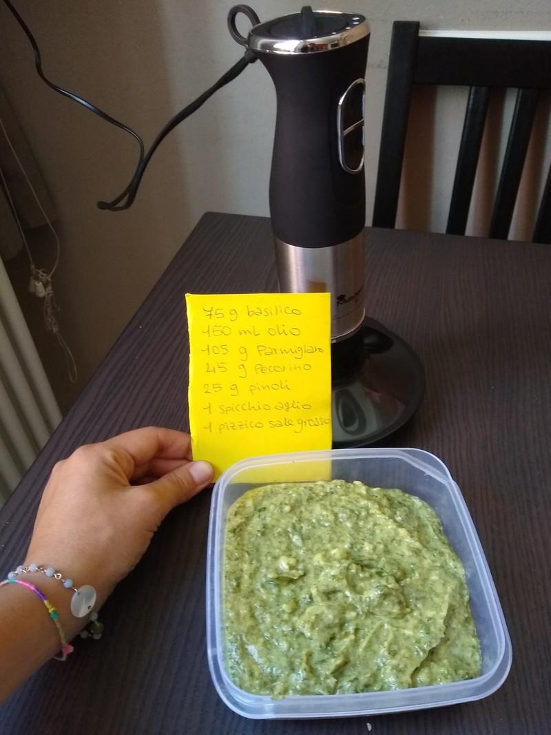 ricetta pesto genovese