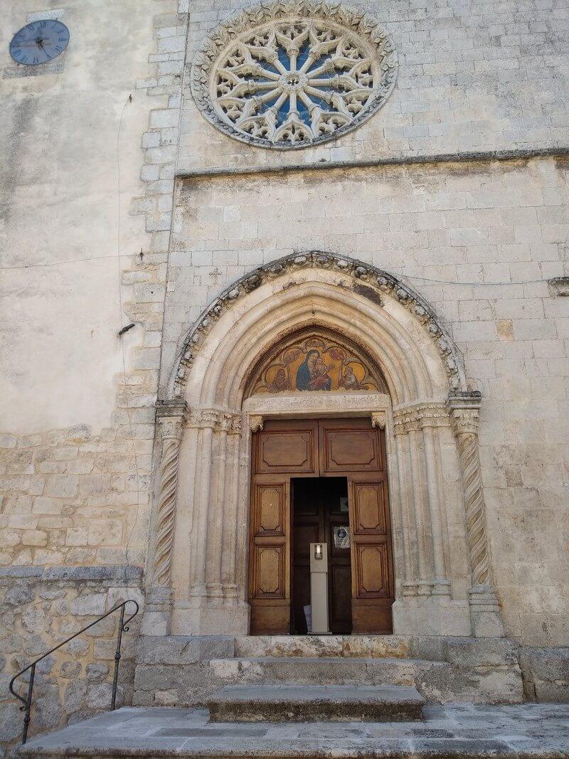chiesa di santa maria delle grazie rosciolo