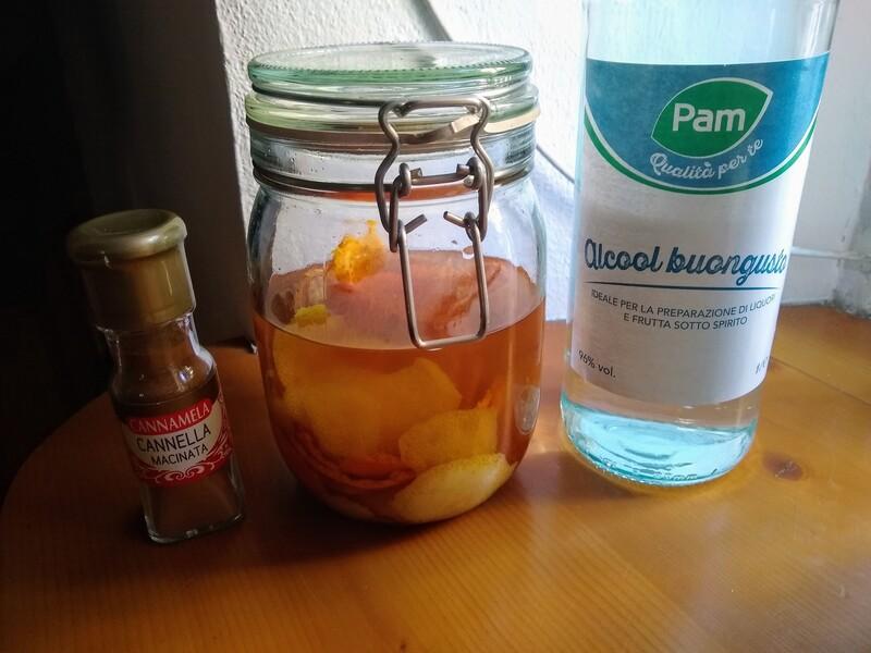 ingredienti liquore al mandarino