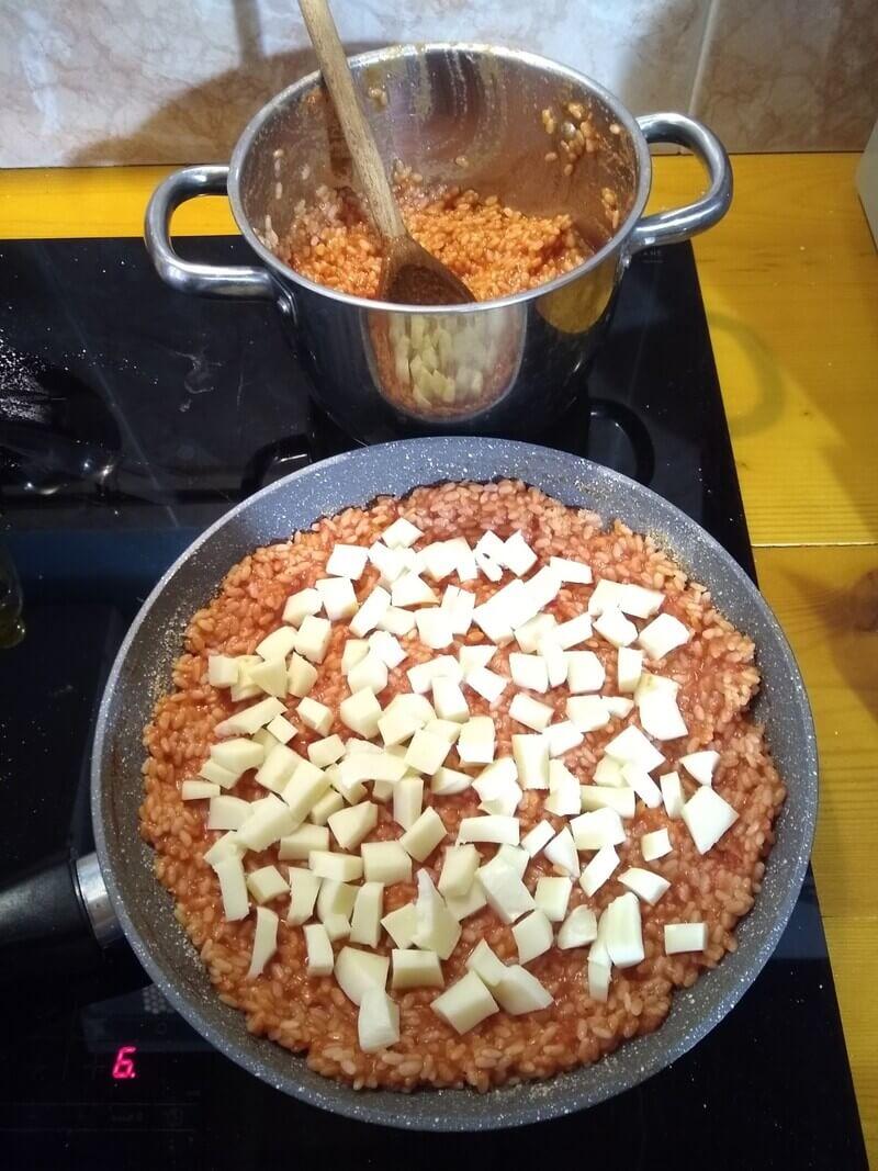 sformato di riso in padella